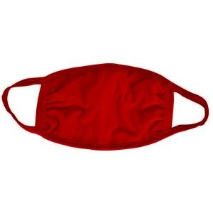 Red Cotton Face Mask