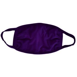 Purple Cotton Face Mask