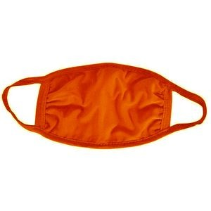 Orange Cotton Face Mask